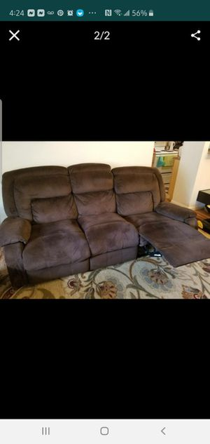 Recliner Sofa and loveseat smoke and pet free home for Sale in Springfield, VA