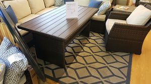 Brand New Patio Furniture Sectional Sofa and one chair tax included and free delivery for Sale in Hayward, CA