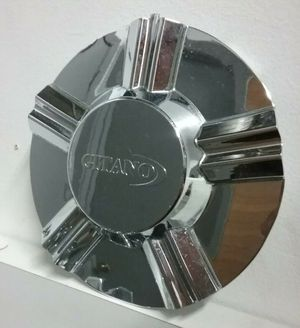 GITANO M925-CAP-1 LG Center Cap Custom Chrome Wheel Rim Cover Hubcap Middle Used for Sale in Phoenix, AZ
