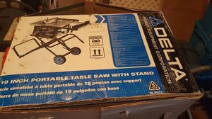 Delta table saw with stand for Sale in Homosassa, FL