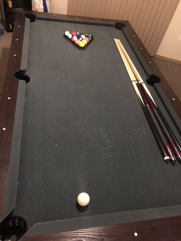 Sportcraft 90 Quot Lexington Billiard Table W Table Tennis Top