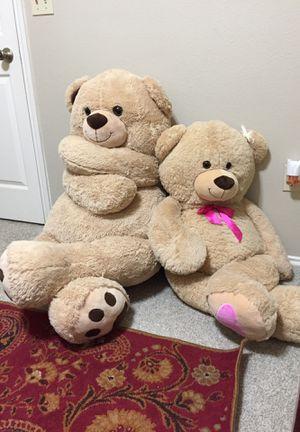 2 Big teddy bears!! for Sale in Austin, TX