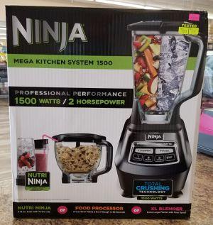 NEW Ninja Mega Kitchen System 1500 Blender Processor Combo: njft hsewres appliances for Sale in Burlington, NJ