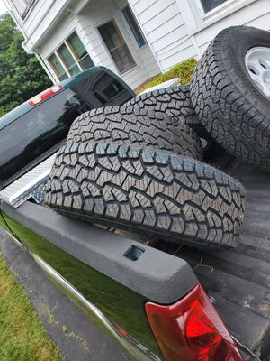 Tires for sale whit aluminun rims for Sale in Winter Hill, MA