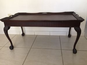 Antique Wood Table for Sale in Miami, FL