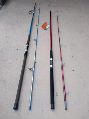 New 12 ft and 10 ft rods....40.00 each for Sale in Hollywood, FL