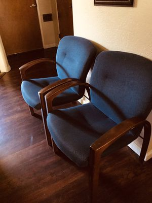 2 chairs for sale very comfortable check my other items for Sale in Fresno, CA
