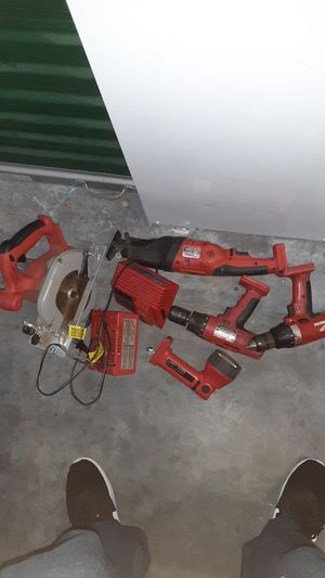 Old school Milwaukee tools 18v power plus for Sale in Livermore, CA