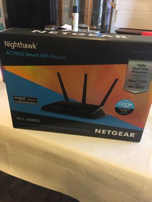 Nighthawk WiFi Router by Netgear for Sale in Saint Charles, MO