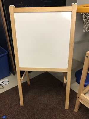 IKEA Easel, softwood, white for Sale in Simsbury, CT