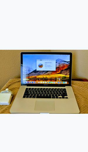 Apple MacBook Pro A1286, Intel Core i7, 2.4 GHz, 4 GB DDR3 RAM, 750 GB for Sale in Concord, CA