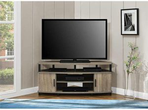 "Altra Carson Corner TV Stand TVs up to 50"" New in Box (Weathered Oak) for Sale in Henderson, NV"