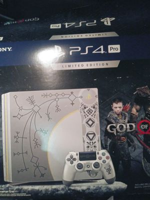 PS4 pro God of war edition for Sale in Dearborn, MI