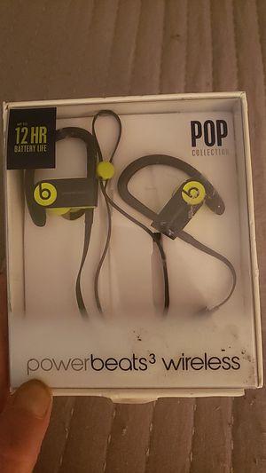 Power beats 3 wireless headphones for Sale in Fresno, CA