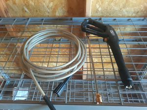 Pressure washer hose amd gun for Sale in San Antonio, TX