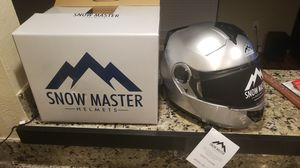 Snow Master Snow/Street Helmet XXL for Sale in Dallas, TX