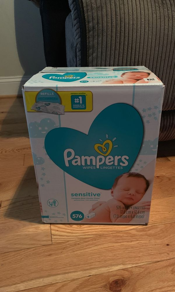 Pampers cruisers, wipes sensitive