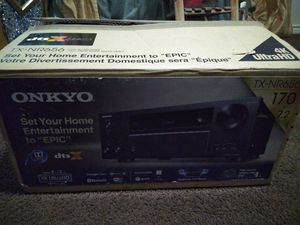 Onkyo audio receiver for Sale in Dallas, TX