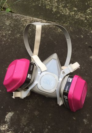 3M 6001 Niosh Half Face Mask + Filters for Sale in Cleveland Heights, OH