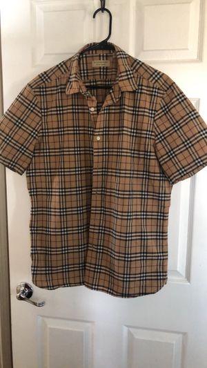 Burberry shirt for Sale in Berenda, CA