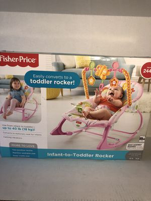 Fisher-Price Infant To Toddler Rocker for Sale in Rialto, CA