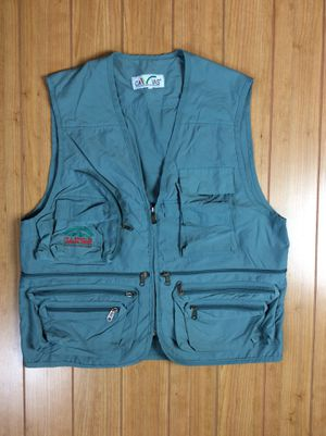 Xl blue fishing hiking camping vest for Sale in Killeen, TX