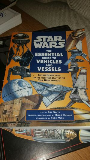 Star wars: Essential guide to vehicles and vessels for Sale in Chesapeake, VA