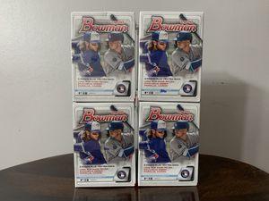 4x Bowman 2020 Baseball - Sealed Blaster Packs (Jasson Dominguez) for Sale in Alexandria, VA