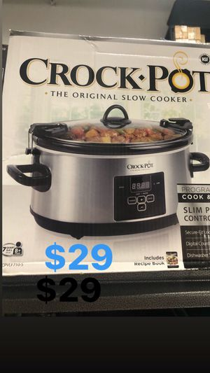 Crock pot 7 QT the original slow cooker for Sale in Pompano Beach, FL