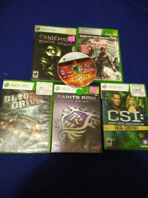 Xbox 360 games for Sale in Newark, OH