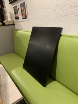 Restaurant table tops - black for Sale in Apex, NC