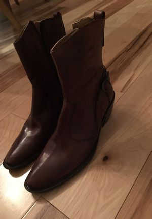 Handmade in Greece leather boots for Sale in Denver, CO
