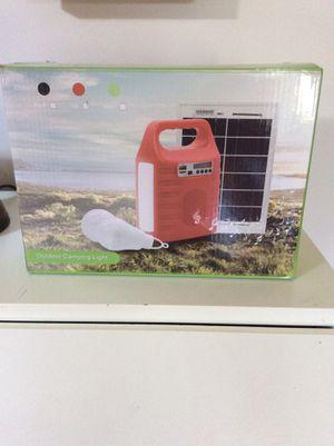 Emergency portable solar powered fm generator for Sale in NJ, US