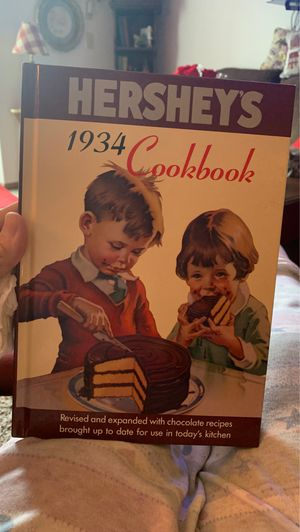 1934 reproduction Hershey's hardcover cookbook for Sale in Grand Rapids, MI