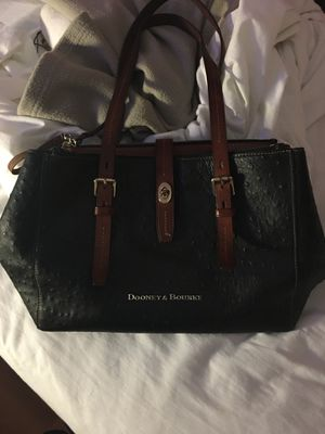 Dooney and Burke black leather purse. for Sale in Denver, CO