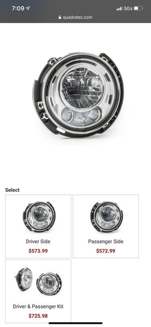 "7"" MOPAR led Headlights for Sale in Martinez, CA"