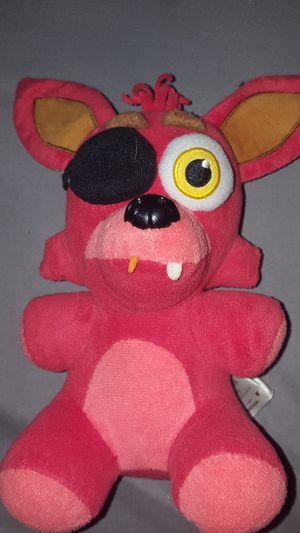 FNaF foxy plushie for Sale in Kennewick, WA