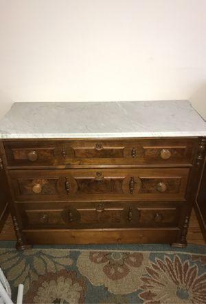 Antique Marble top dresser for Sale in Vienna, VA