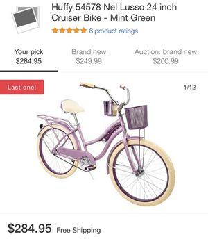 Huffy 54578 Nel Lusso 24 inch Cruiser Bike for Sale in Cherry Hill, NJ