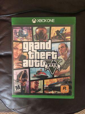 GTA 5 Xbox one for Sale in Ellensburg, WA