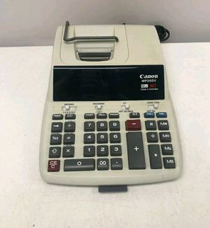 Canon Mp25DV 12 Digit Printing Calculator for Sale in Anaheim, CA