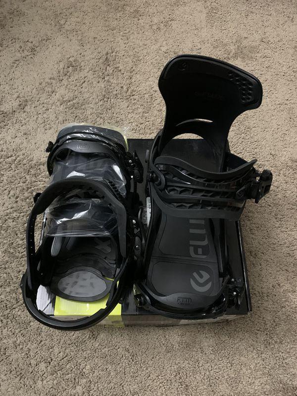 2020 $285 Flux DS Snowboard bindings mens L
