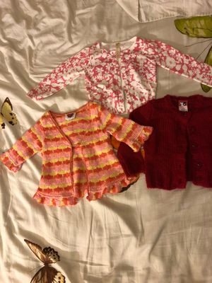 Girls knit sweaters new 12M $10 for all 3 for Sale in Los Angeles, CA