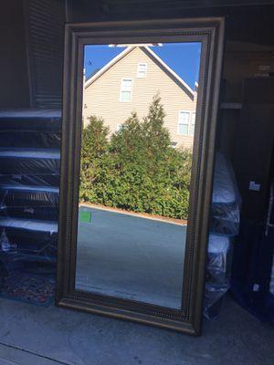 "Floor model Howard Elliot 81 by 43"" floor mirror for Sale in Willow Spring, NC"