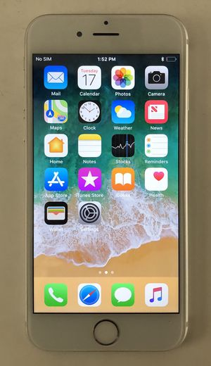 Like New Silver Factory Unlocked iPhone 6 16GB - Read Description for Sale in Duluth, GA