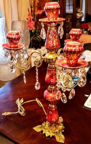 Antique Vintage Four Arm Table Lamp for Sale in Fort Lauderdale, FL