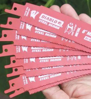 8pc. Diablo reciprocating blades for Sale in Margate, FL