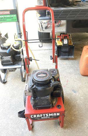 Craftsman pressure washer for Sale in Houston, TX