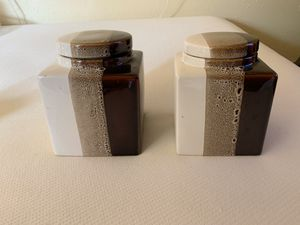 Pier One Ceramic Canister Set for Sale in Lacey, WA