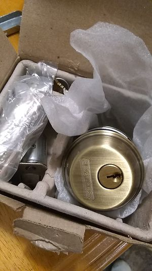 Schlage deadbolt for Sale in Milford, OH